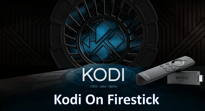 Kodi App on an Amazon Fire TV Stick